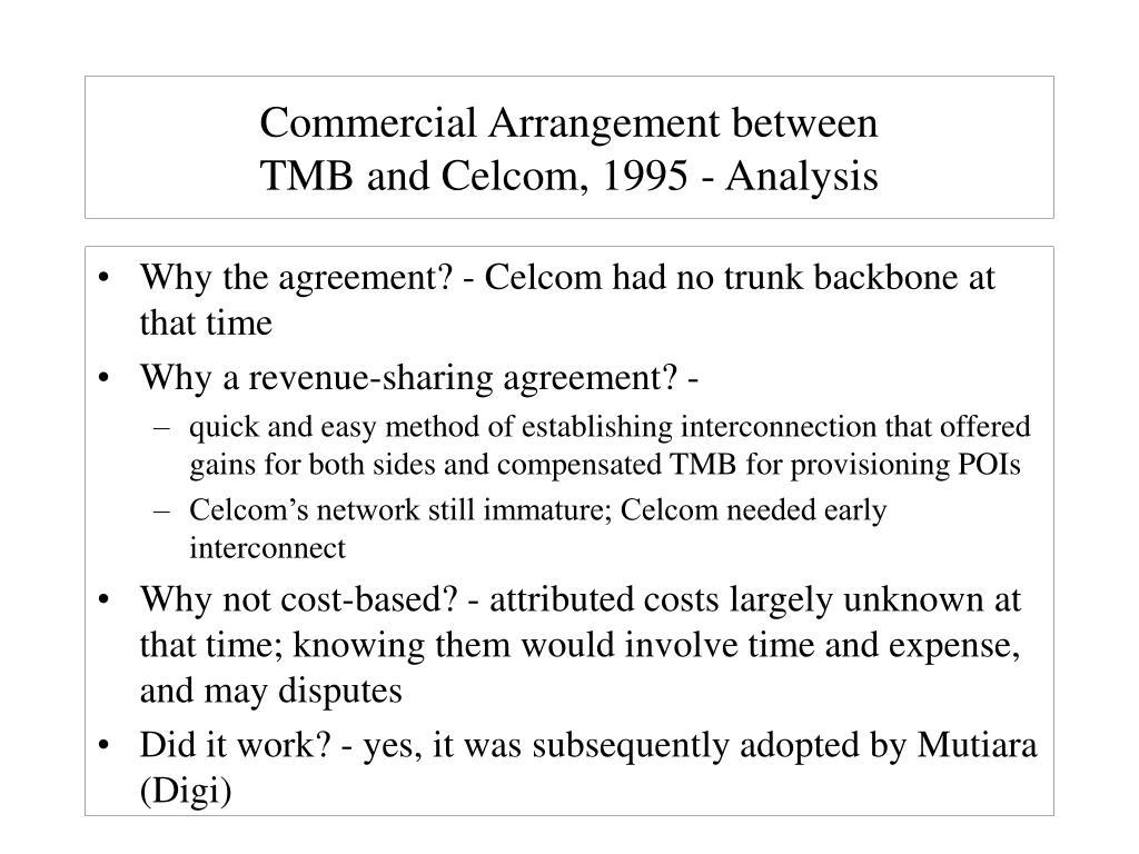 celcom analysis