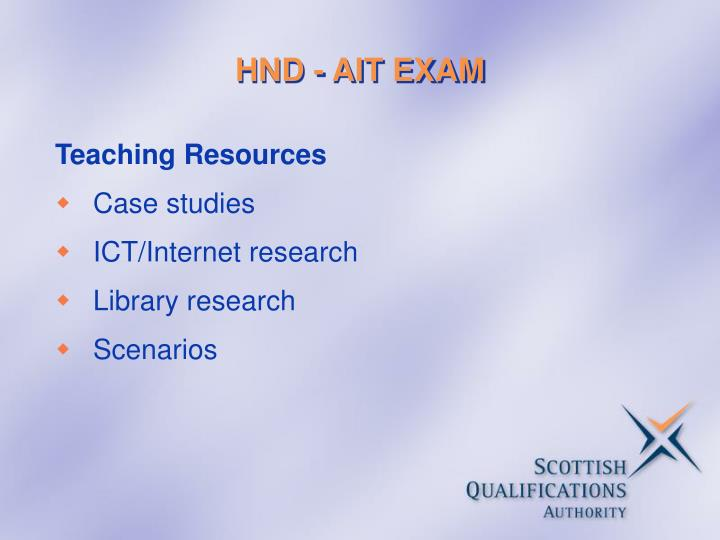 hnd business graded unit Cee offers the hnd with specialization business and with units from human resources (personnel), finance, marketing and general business each unit is internally assessed and graded by faculty members against various kinds of assessments - case studies, projects, field visits, reports, tests etc.