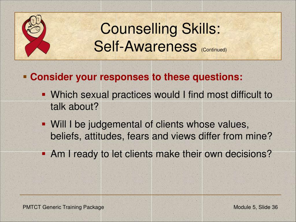 Counselling Skills: