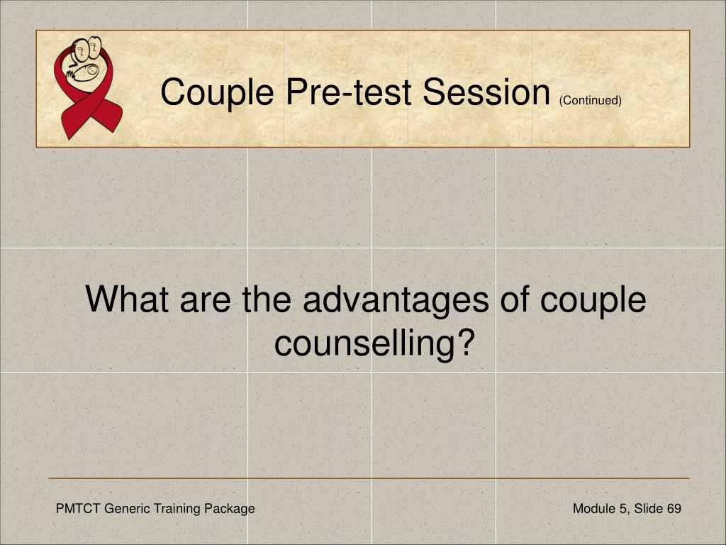 Couple Pre-test Session