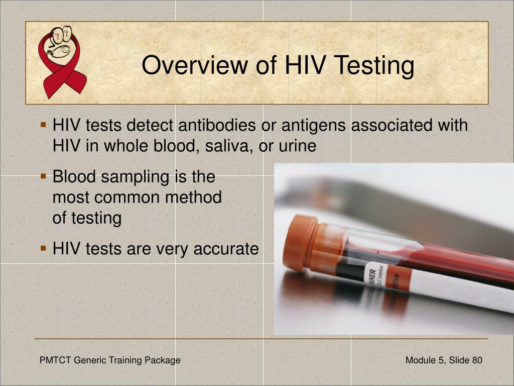 Overview of HIV Testing