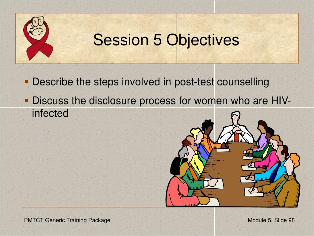 Session 5 Objectives