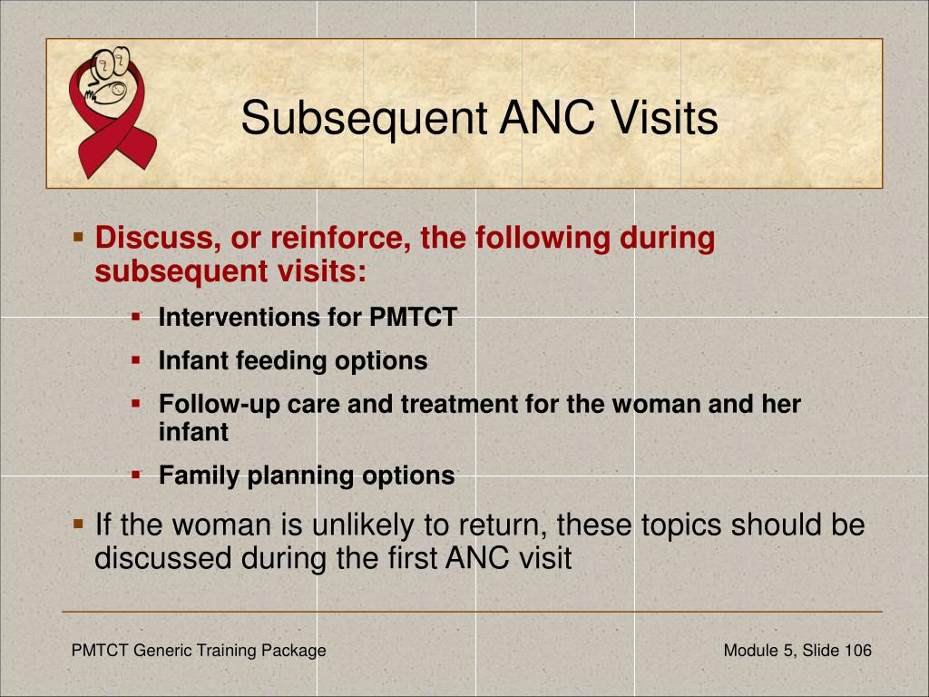 Subsequent ANC Visits