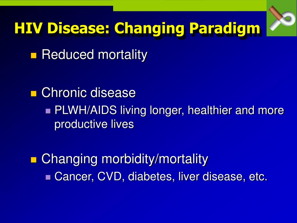 HIV Disease: Changing Paradigm