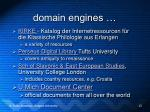 domain engines13