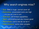 why search engines miss