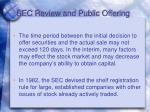 sec review and public offering13