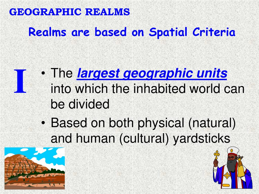 GEOGRAPHIC REALMS
