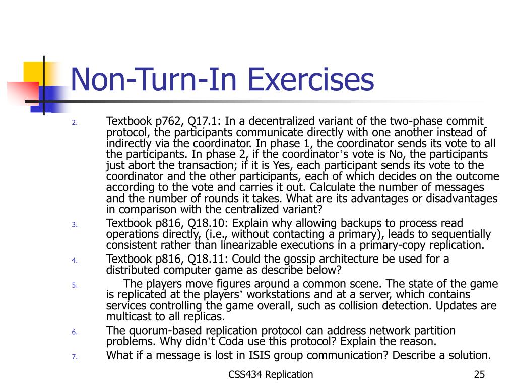 Non-Turn-In Exercises