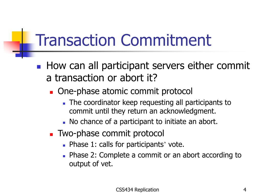 Transaction Commitment