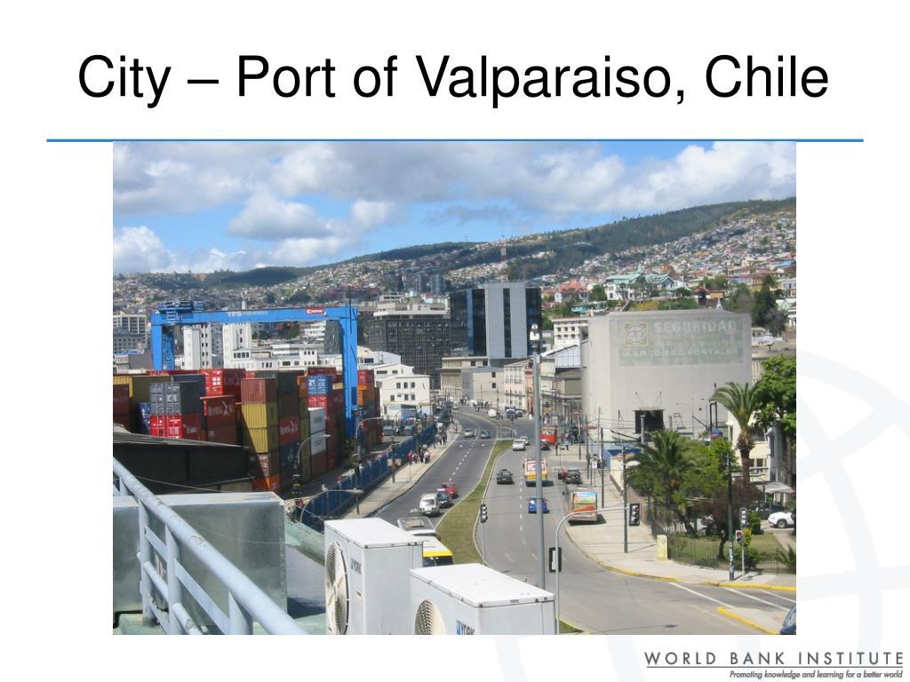 City – Port of Valparaiso, Chile