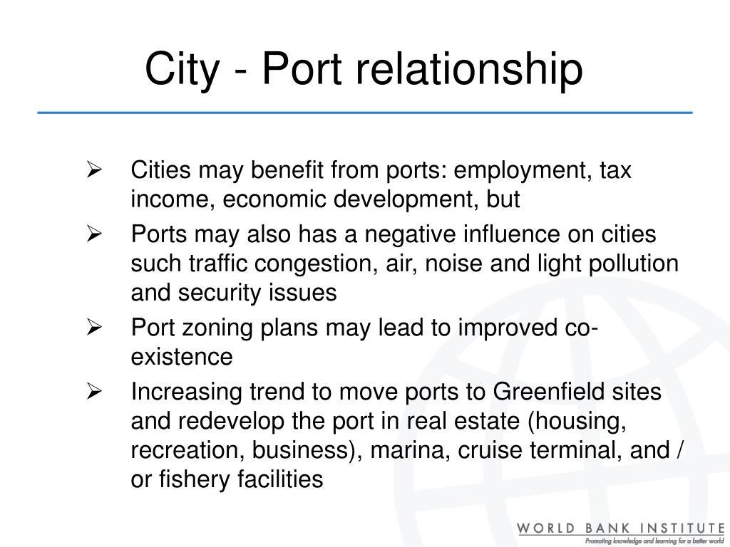 City - Port relationship