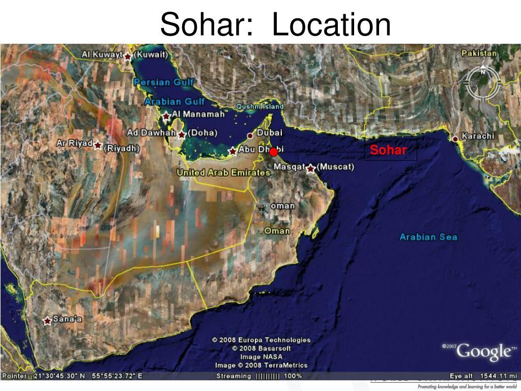 Sohar:  Location