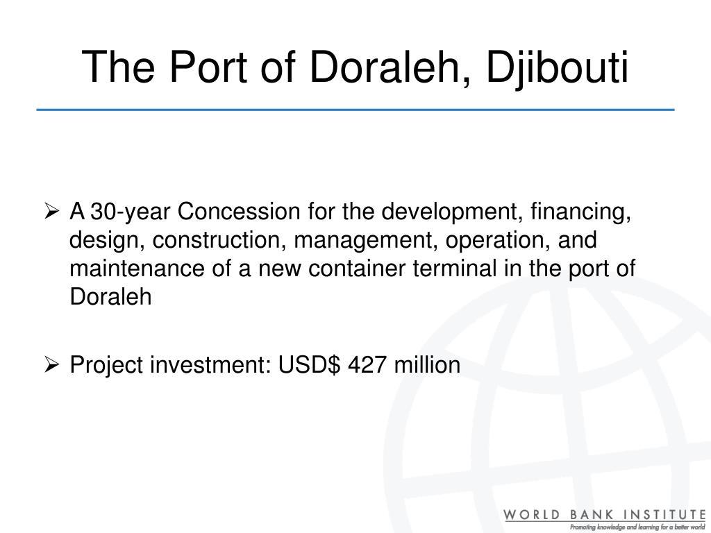 The Port of Doraleh, Djibouti