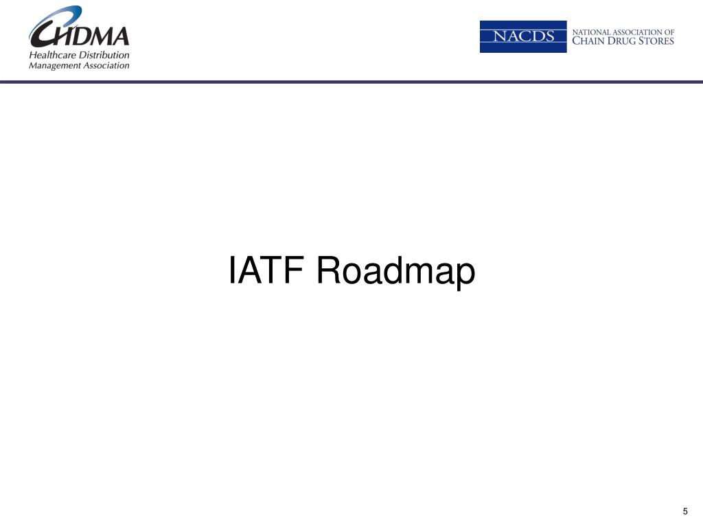 PPT - Industry Adoption Roadmap Update PowerPoint
