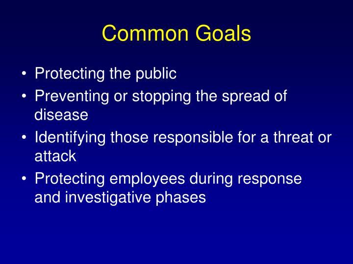 Common Goals