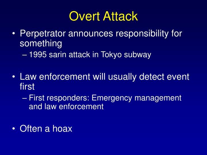 Overt Attack