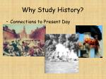 why study history11