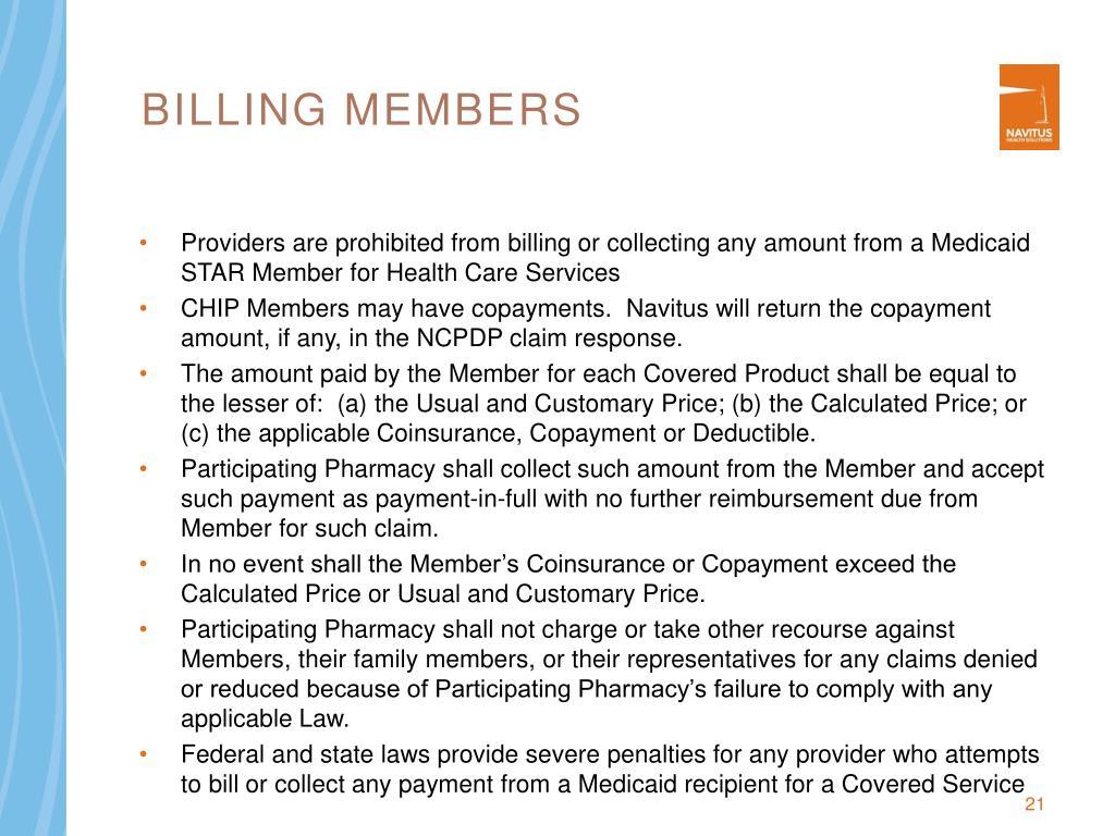 Billing Members