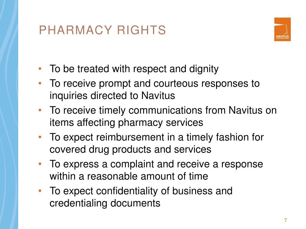 Pharmacy Rights