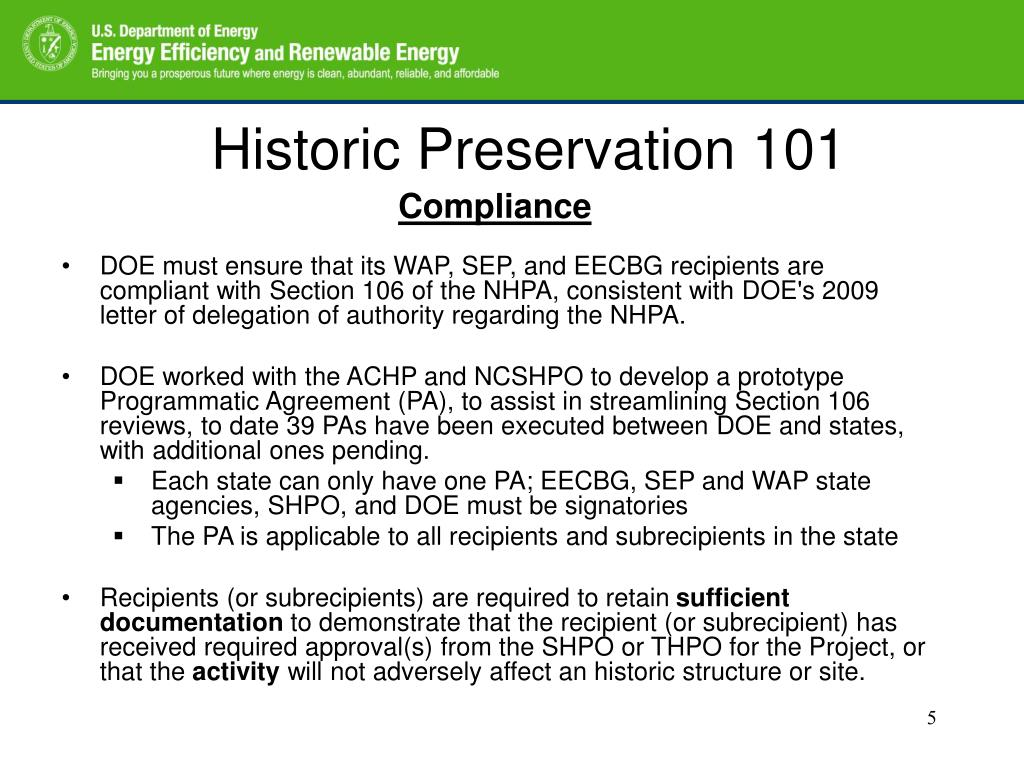 Historic Preservation 101