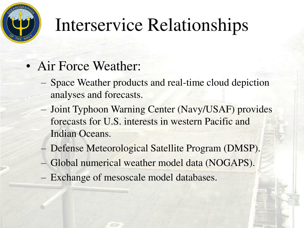 Interservice Relationships