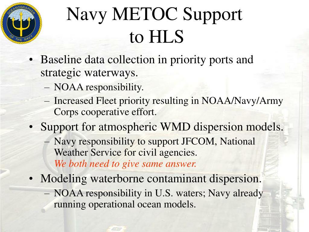 Navy METOC Support