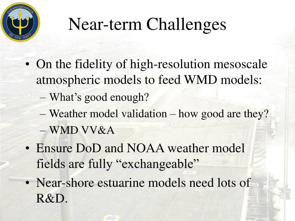 Near-term Challenges