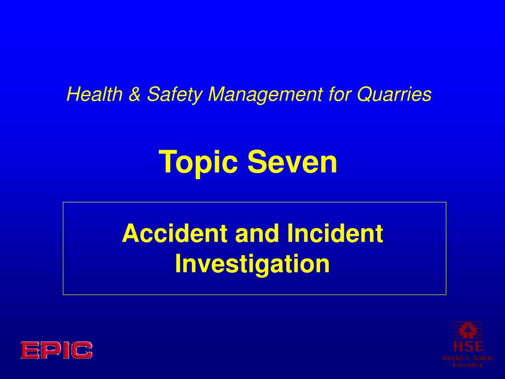 accident and incident investigation l.