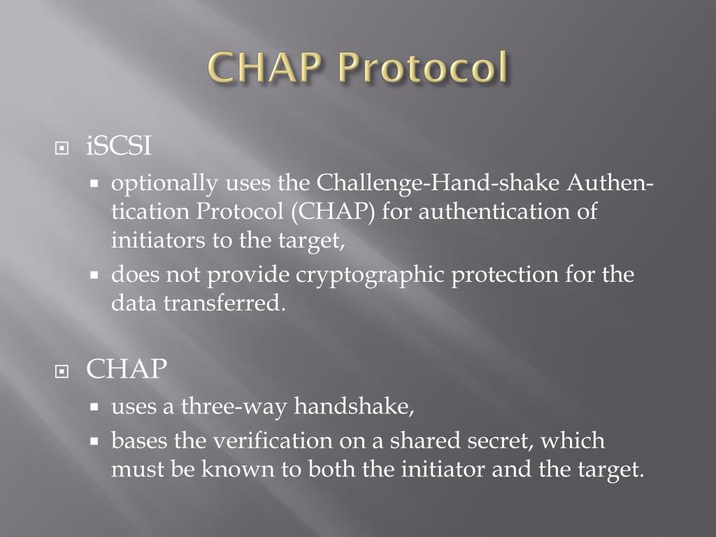 CHAP Protocol