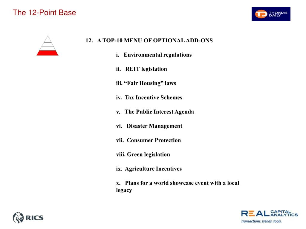 The 12-Point Base