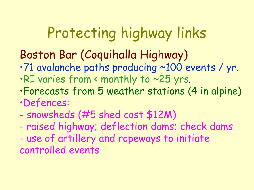 Protecting highway links