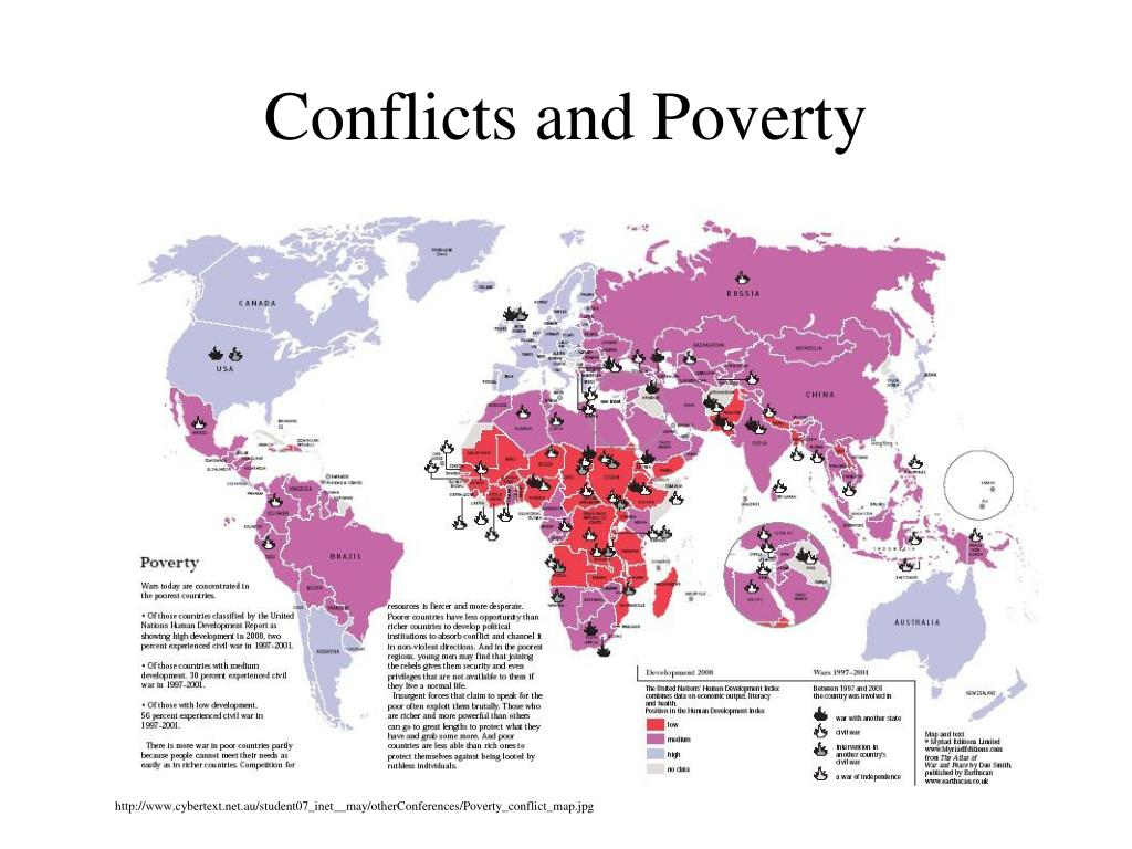 Conflicts and Poverty