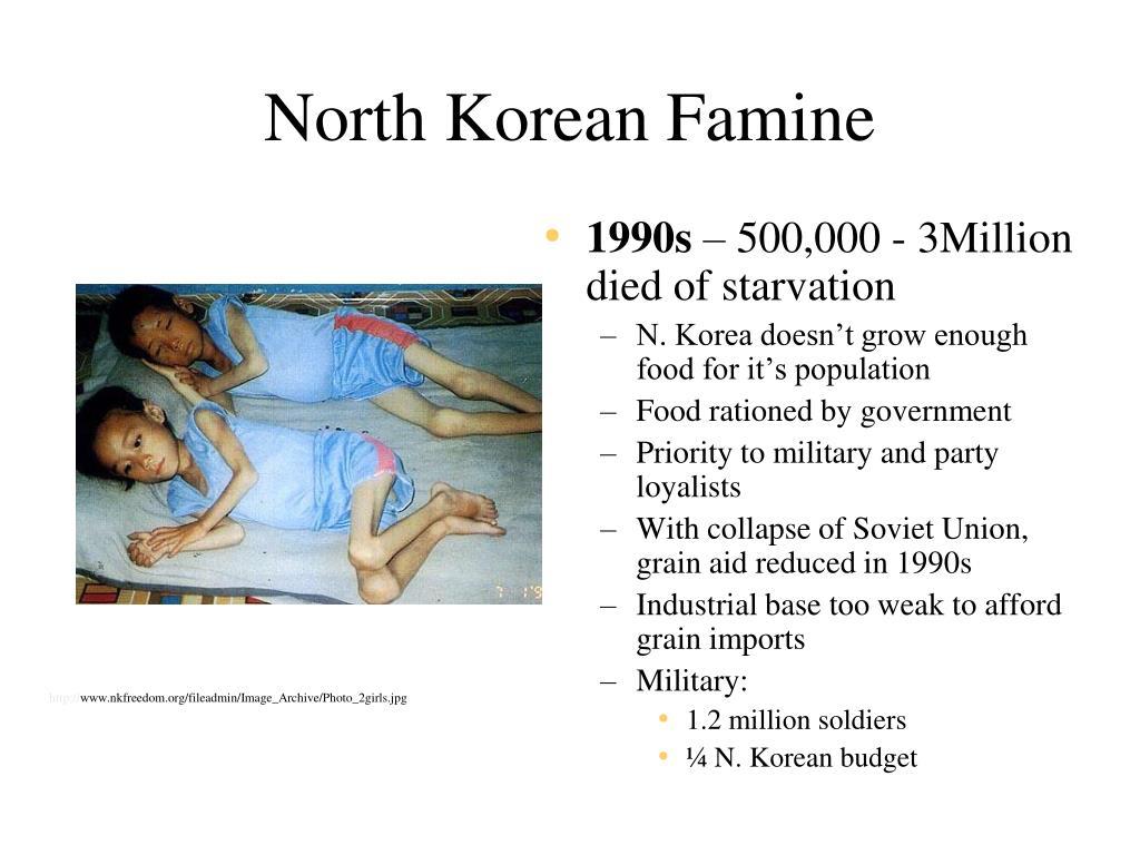 North Korean Famine