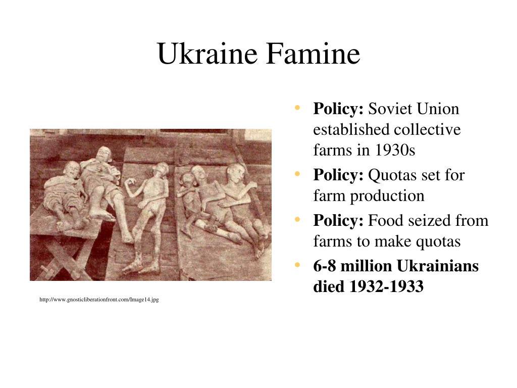 Ukraine Famine