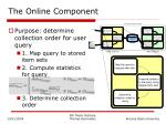 the online component