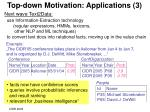 top down motivation applications 3