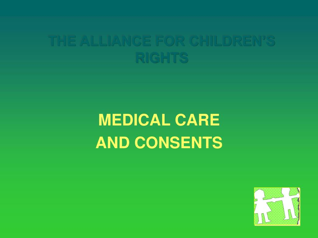 the alliance for children s rights l.