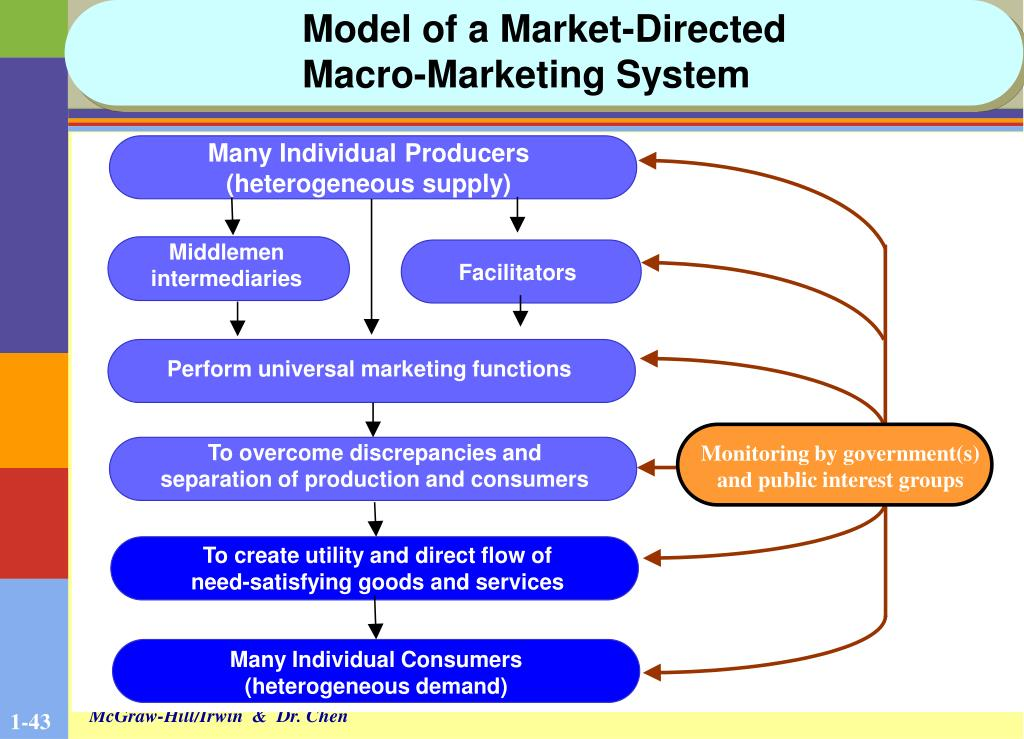 Model of a Market-Directed Macro-Marketing System