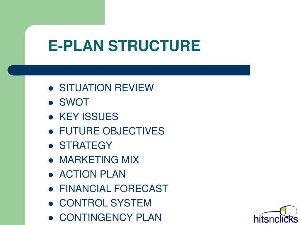 E-PLAN STRUCTURE
