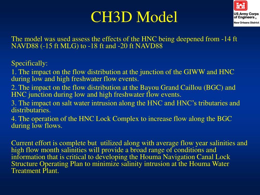 CH3D Model
