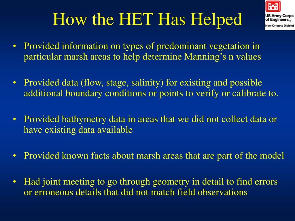 How the HET Has Helped