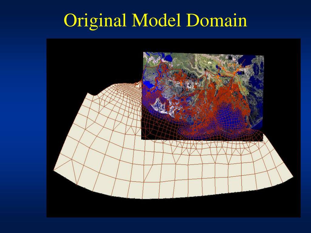 Original Model Domain