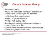 genetic interest group