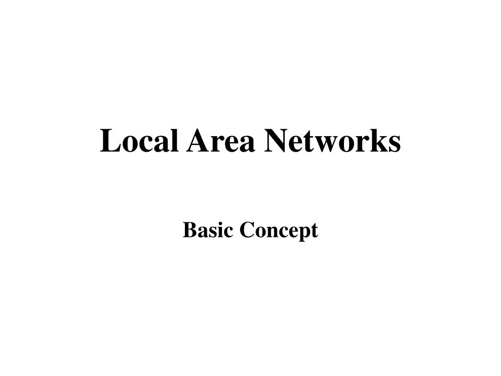 local area networks l.