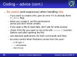 coding advice cont33