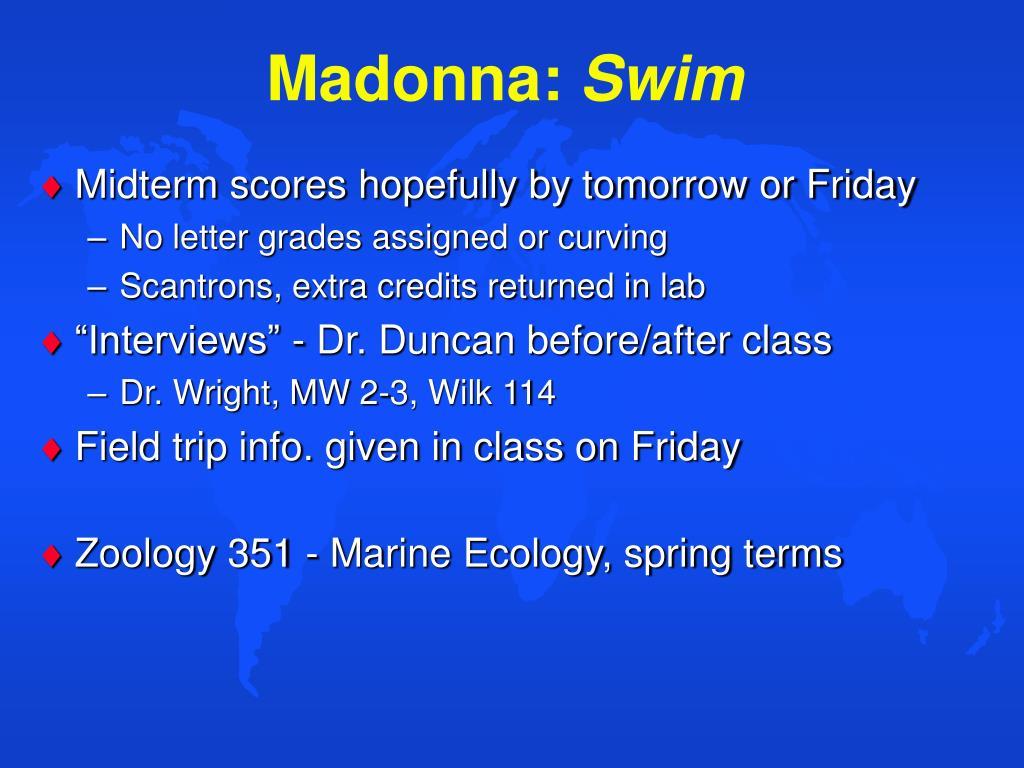 madonna swim l.