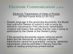 electronic communications cont d20