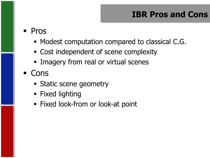 IBR Pros and Cons