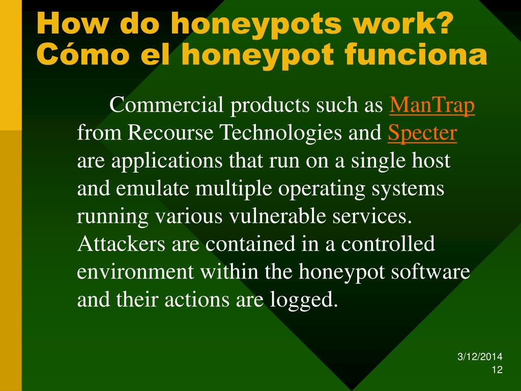 How do honeypots work?